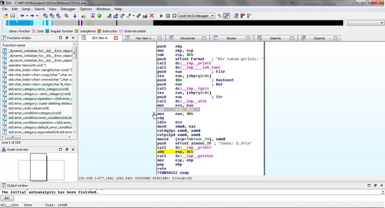 BTRisk – SEH Exploit'leri Eğitim Serisi