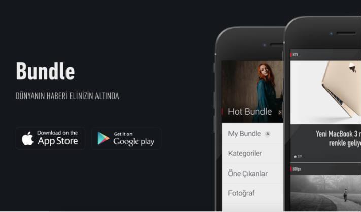 Bundle Mobile Uygulaması ve MehmetInce Blog
